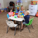 80425 Children's Square Folding Table