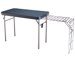 SO 8190 Lifetime 28190 Green Portable Camp Table + Stove Rack (disc.)