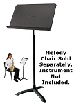 National Public Seating 82 ms Music Stand