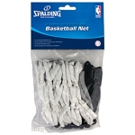 Spalding 8222S All Weather Basketball Net Black Gray and White