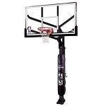 Spalding Arena View Basketball Systems 86604HGP 60 in. Glass Backboard