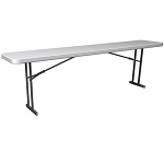 Lifetime Folding Conference Tables 880177 8-Foot White Granite 20 Pack