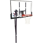 Spalding In-Ground Basketball Hoop 88307PR Pro Glide 52 In. Backboard