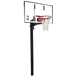 Spalding In-Ground Basketball Hoops - 88461G 60 Inch Glass Backboard