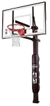 SO Huffy Spalding Basketball Hoop 88825 54 In Acrylic In-Ground System