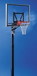 XSO 48x36 Aluminum Framed Acrylic Basketball Backboard Inground System