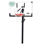 Lifetime Basketball Hoop 90062 54-in Glass Backboard In-Ground System