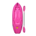 Sit-On-Top Kayaks - Pink 6 ft. Wave Youth Kayak 90098