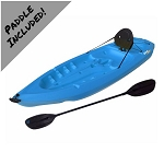 Sit-On-Top 8 Kayaks - Blue Lotus Adult Kayak - 8 ft. Lifetime 90112