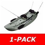 Lifetime Sit on Top Kayaks 90121 10-ft Sport Fishing Kayak Olive Green