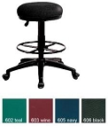 OFM Office Stools Portable Office Utilistool Vinyl Seat Drafting Kit