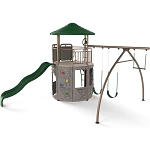 Lifetime Playground 90440 Adventure Tower Play Set in Earth Tones