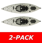 Lifetime Emotion Guster Kayak 90532 10-Foot Sandstone 2 Pack