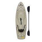 "Lifetime Hydro 8'5"" Sit On Top Fishing Kayak with Paddle"