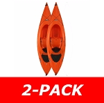 90642 Payette 116 Kayak (2-Pack, orange)