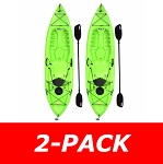 90643 Lifetime Tioga 120 (2-Pack Lime) Kayaks