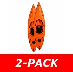 90735 Arrow Kayak (orange) 2-Pack