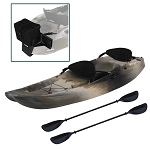 Lifetime Sit on Top 90760 10-ft Tandem Sport Fisher Camo Kayak