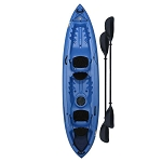 Lifetime Beacon Kayak 90791 Storm Blue 12-Foot With Paddles