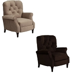Home Furniture Recliner - AM-2650-GG High-Leg Tufted Chair