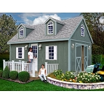 Arlington 12x20 ft Best Barns Wood Shed Barn Kit