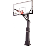 Goalrilla Basketball Hoop B3010W CV60S 60-inch Glass Backboard System