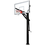 Goalrilla Basketball Hoop B5000W GS72C 72 x 40 Glass Backboard System