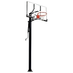 Silverback In-Ground Basketball System B5401W 54-inch Glass Backboard