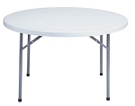 Round Folding Tables National Public Seating Bt-48r Gray 48