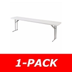 Seminar Folding Table - Bt1896 Gray Plastic Table - 18x96