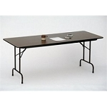 Melamine Folding Tables Correll CF3072M Folding Table 30x72 Table Top