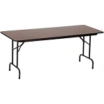 Correll Folding Tables High-Pressure Laminate Top Table Model CF3096PX
