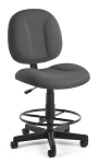 Computer Office Chair - 105-dk Superchair with Footrest