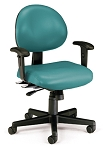 Ofm 241-Vam-Aa 24 Hr. Computer Mulit-Shift Adjustable Vinyl Task Chair