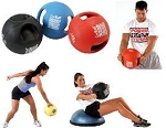 SO Power Systems Exercise Fitness CorBall Medicine Ball + Handles