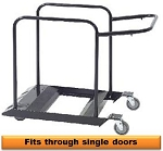 Narrow CT Table Steel Storage Cart For 72