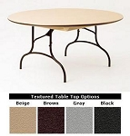 Round Folding Tables Mity Lite CT60F Plastic Core Composite 60 Table