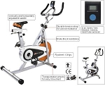 SO Fitness Essentials B-Stock Upright Indoor Cycling Exercise Bike