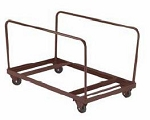 DY60R NPS National Public Seating Rolling Table Storage Truck Caddie