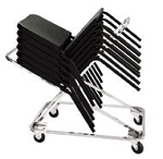 DY-82 Dolly For #8200 NPS National Public Seating Series Chairs