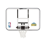 Spalding Basketball Backboard Rim Combo E79Dens Denver Nuggets Logo
