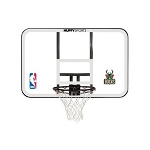 Spalding Basketball Backboard Rim Combo 44-in E79Mils Milwaukee Bucks