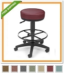 E902-DK Utility Stool Elements Upgraded Fabric Stool