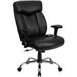 Big and Tall Office Chairs - Hercules Series Leather Executive Chair