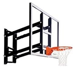 Goalsetter Wall-Mount Fixed-Height Basketball Hoop GS54 54 In Acrylic