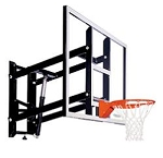 Goalsetter GS72AA 72-inch Acrylic Backboard Wall Mount System