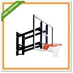 Goalsetter Basketball Backboard Hoop GS60GF Wall-Mounted Goal 60 Glass