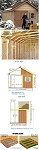 Hanover 12x12 Best Barns Wooden Shed Barn Kit