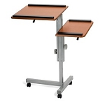 Ofm Lcs-100 Pc Multipurpose Laptop Computer Stand Cart