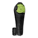 TETON Sports 1131 Black LEEF 0 F UltraLight Sleeping Bag w/ Body Mapping